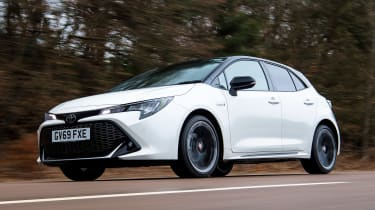 Toyota Corolla GR Sport - front tracking