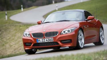 BMW Z4 front cornering
