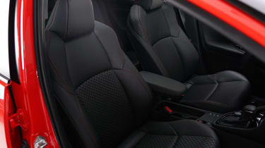 Toyota Yaris - seats studio