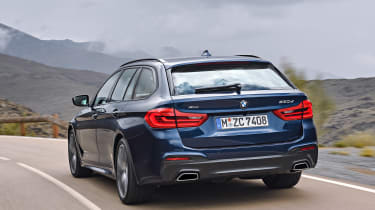 New BMW 5 Series Touring - rear