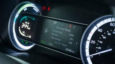 Living with an EV - Kia Niro dials