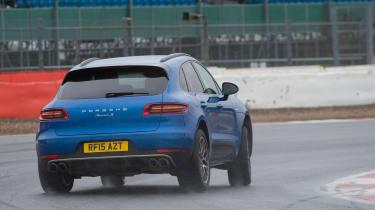 Long-term test review: Porsche Macan - rear cornering