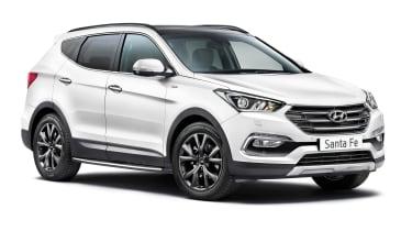 Hyundai Santa Fe Wiggins Edition - front white
