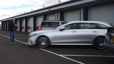Mercedes E-Class Estate long term - first report parking