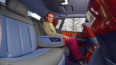 Building a Rolls-Royce Phantom - rear seats
