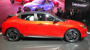 New Hyundai Veloster - Detroit side