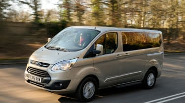 Ford Tourneo Custom 2.2 TDCi in action