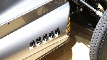 Morgan EV3 - Geneva 2016 - detail