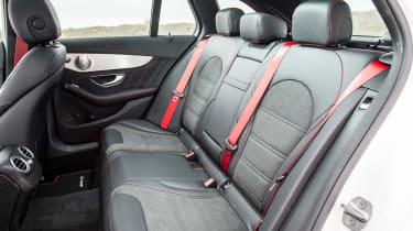 Mercedes-AMG C 43 Estate 2016 - rear seats