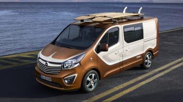 Vauxhall Vivaro Surf Concept - front three quarter