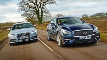 Infiniti Q70 vs Audi A6