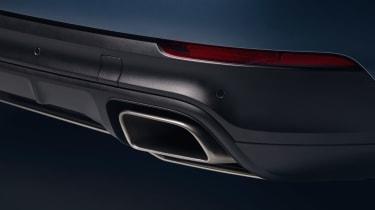 Porsche Cayenne - exhaust