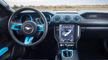 Ford Mustang Lithium EV - dash