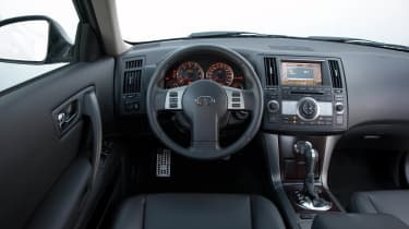 FX45 interior