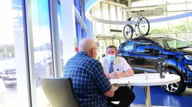 Ford Ranger Wildtrack long termer - first report dealership