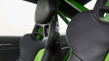 Porsche 911 GT3 RS - seat