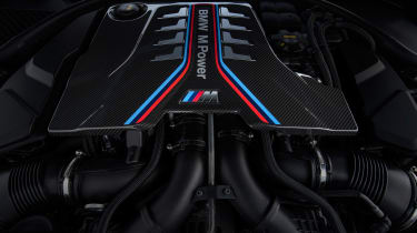 BMW M8 Competition - engine