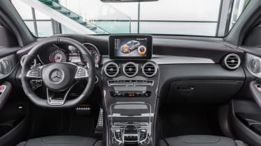 Mercedes-AMG GLC 43 Coupe - interior
