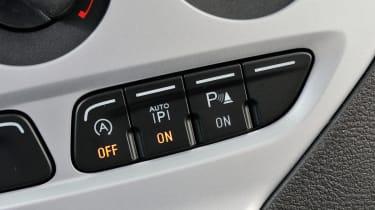 Ford Focus ECOnetic interior detail