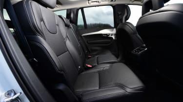 Volvo XC90 long term - rear seats