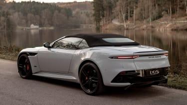 Aston Martin DBS Superleggera Volante - rear tracking
