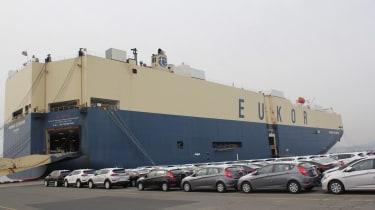 Hyundai Ulsan - loading