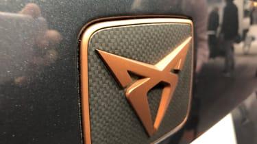 Cupra Ateca SUV badge