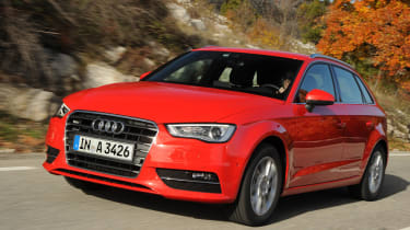 Audi A3 Sportback 1.4 TFSI front tracking