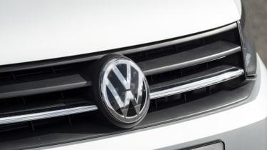 VW Caddy badge