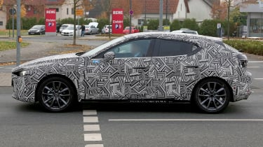 Mazda 3  - spy profile