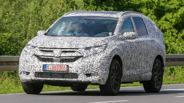Honda CR-V - spy shots - front