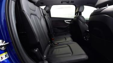 Used Audi Q7 - rear seats