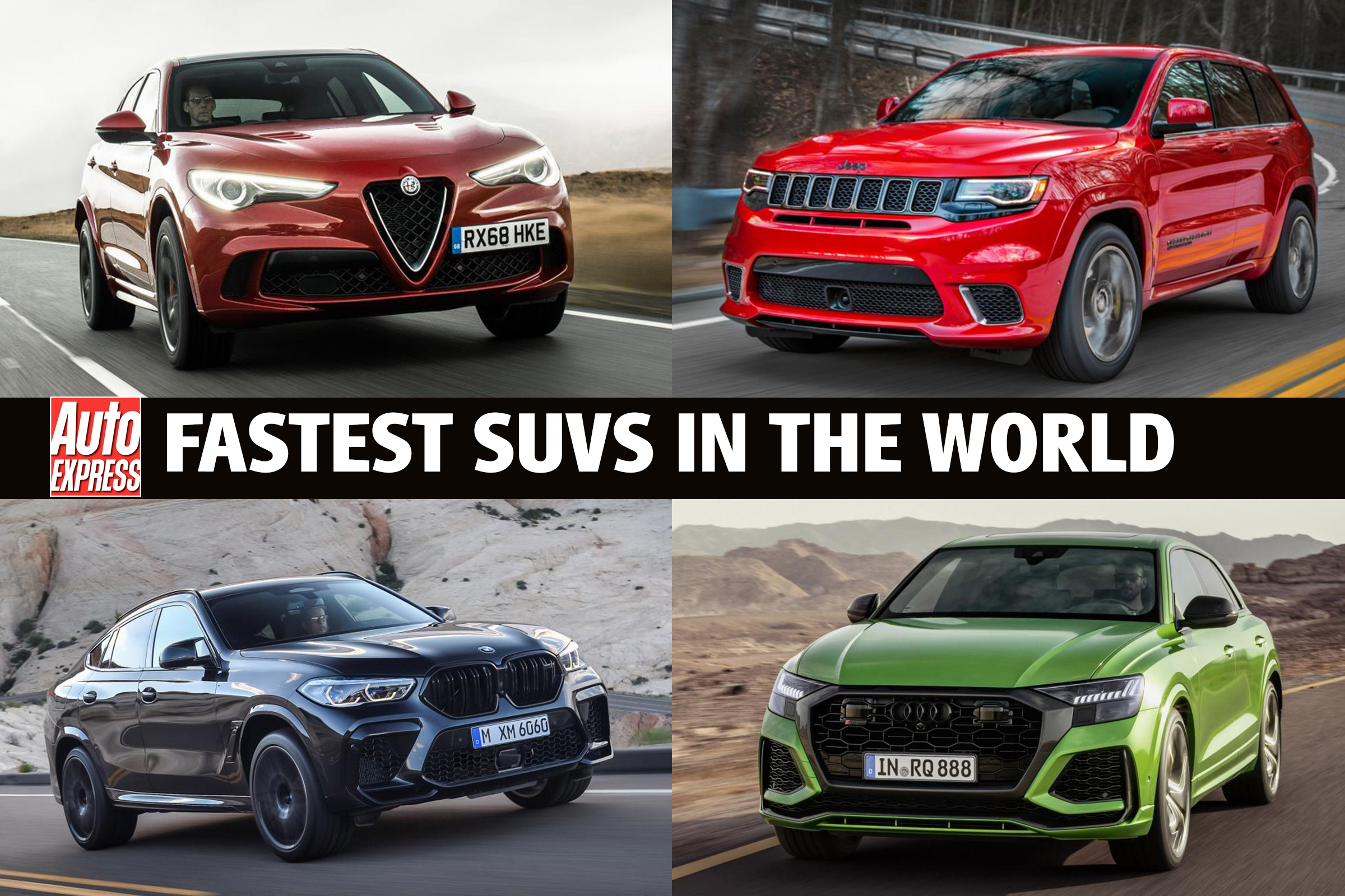 Fastest Suvs In The World 2020 Auto Express