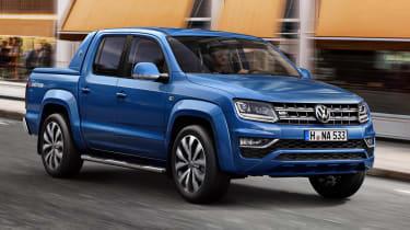 Volkswagen Amarok V6 - front tracking