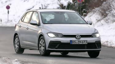 Volkswagen Polo hatchback spied