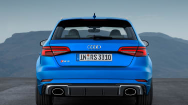 Audi RS3 Sportback 2017 - rear