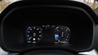 Volvo XC60 - speedo