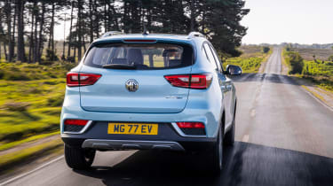 MG ZS EV rear