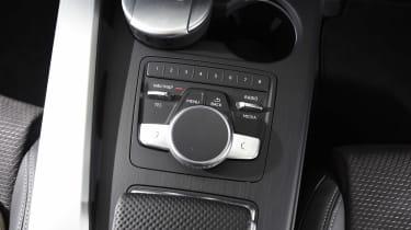 Audi A5 Cabriolet - MMI controls