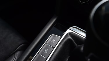 Volkswagen Passat - button