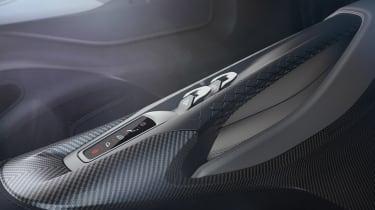 Aston Martin 003 concept - centre console
