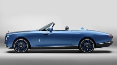 Rolls-Royce Boat Tail - side studio