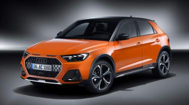 Audi A1 Citycarver - front studio