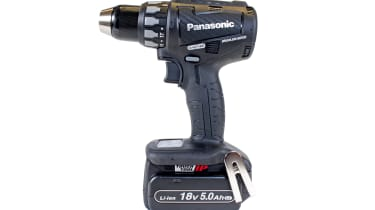Panasonic Li-Ion Brushless Combi Hammer Drill kit EY74A2LJ2G31