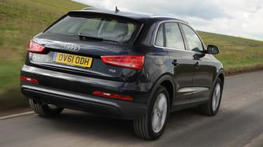 Audi Q3 2.0 TDI (2WD) rear tracking