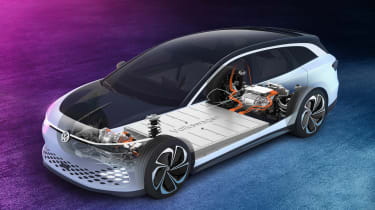 Volkswagen ID. Space Vizzion - powertrain