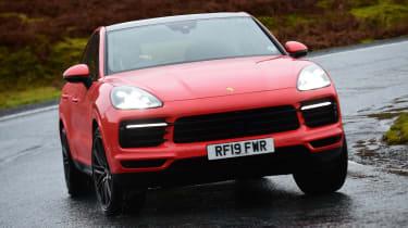 Porsche Cayenne Coupe - front cornering