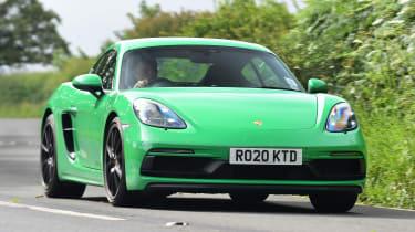 Porsche 718 Cayman GTS 4.0: long-term test review - first report front