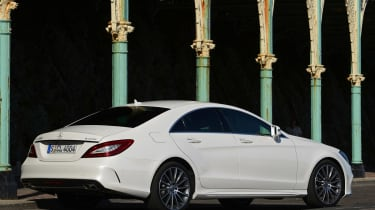 New Mercedes CLS 2014 rear static