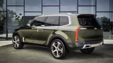 Kia Telluride - rear quarter